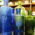 アンティークボトル グリーン・ブルー